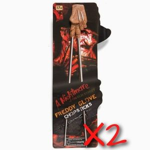 Freddy Krueger Chopsticks - 2 Sets